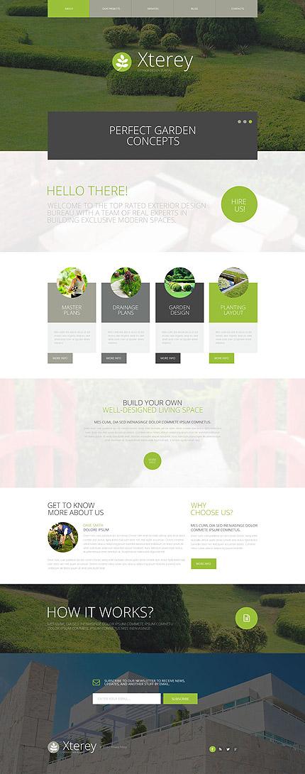 Exterior Design WP Theme