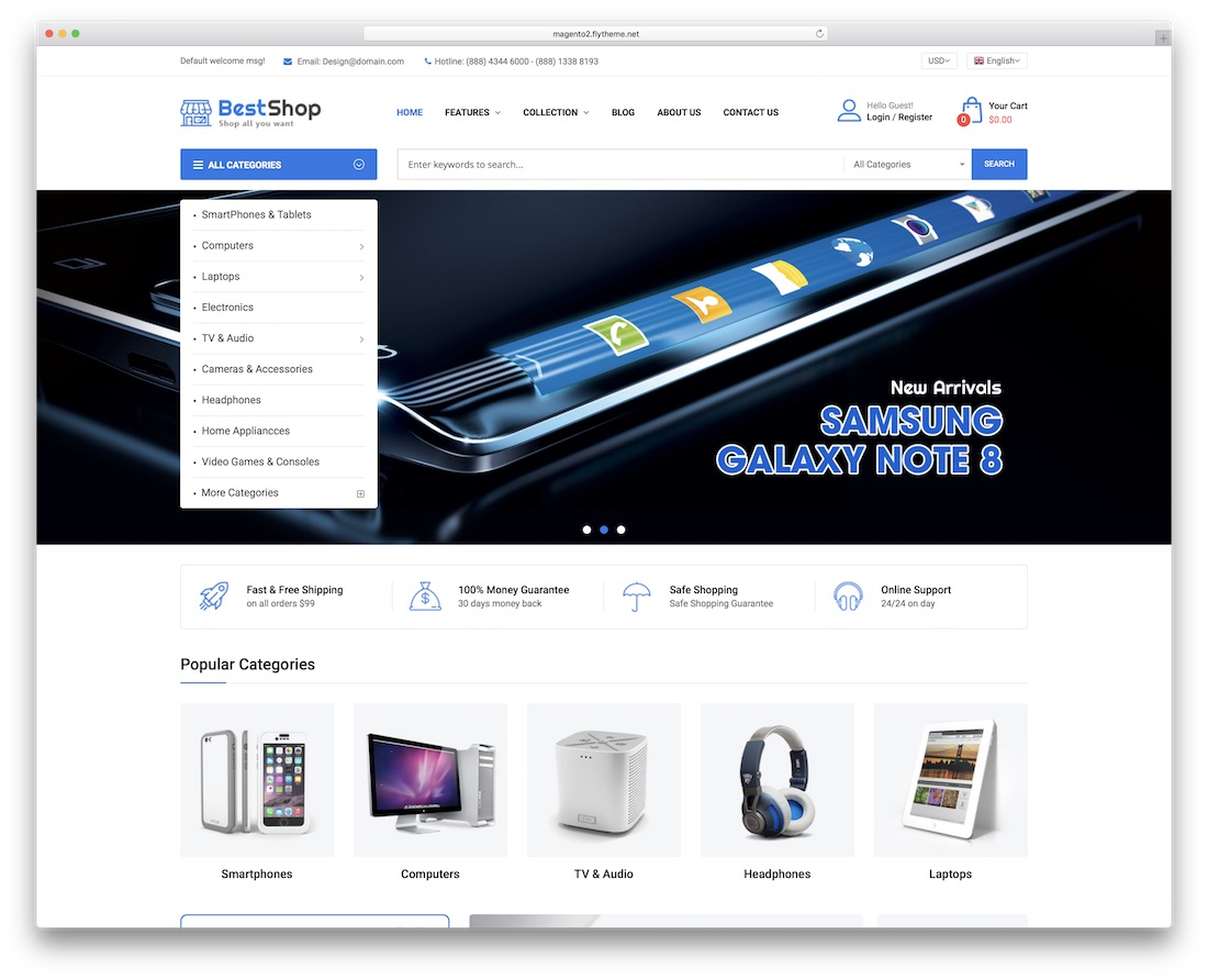 bestshop magento theme