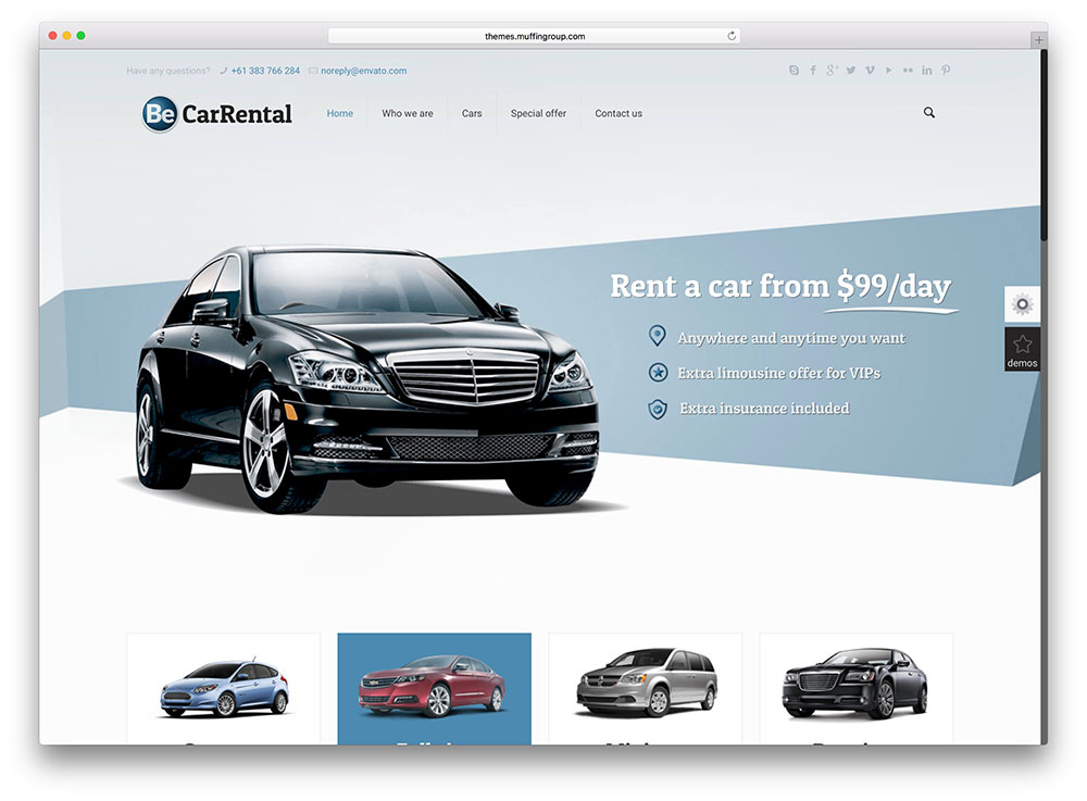 betheme-car-renatl-wordpress-template