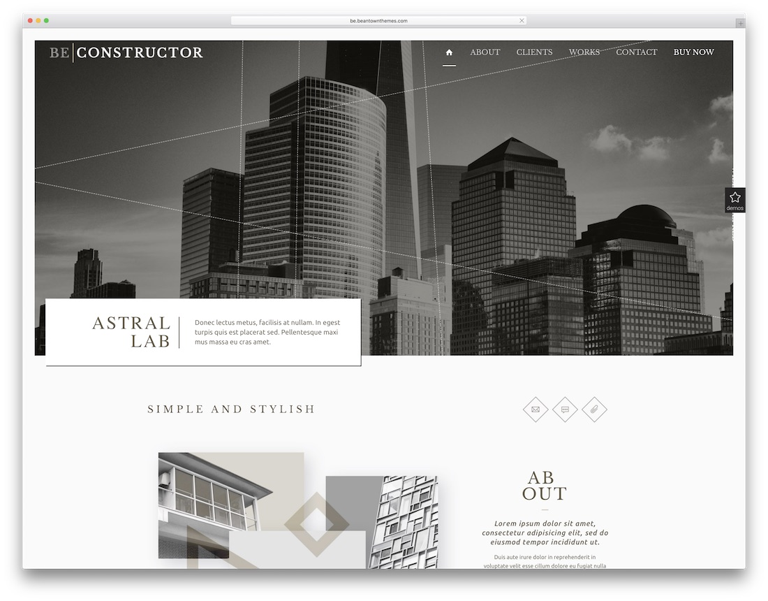 23 Best HTML Construction Company Templates 2018 - Colorlib