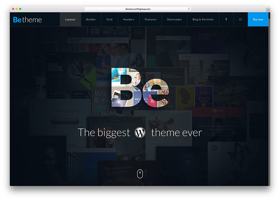 Blog Home » 30 Great Examples of Websites Using BeTheme – Most ...