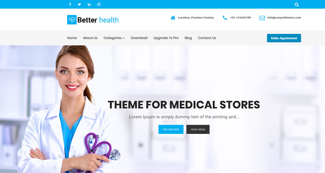 25 Best Free Medical Website Templates To Make Clean & Healthy Website