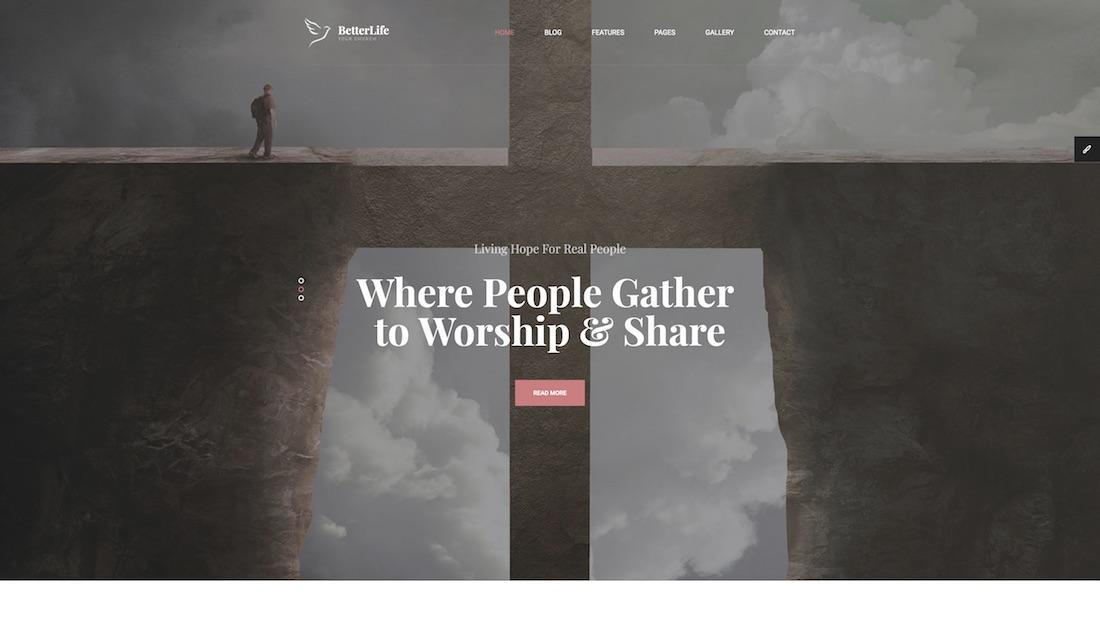 betterlife website template
