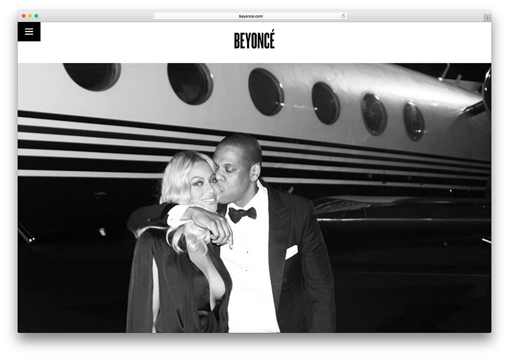 30 Awesome Websites of Famous Celebrities Using WordPress as a, Vectribe