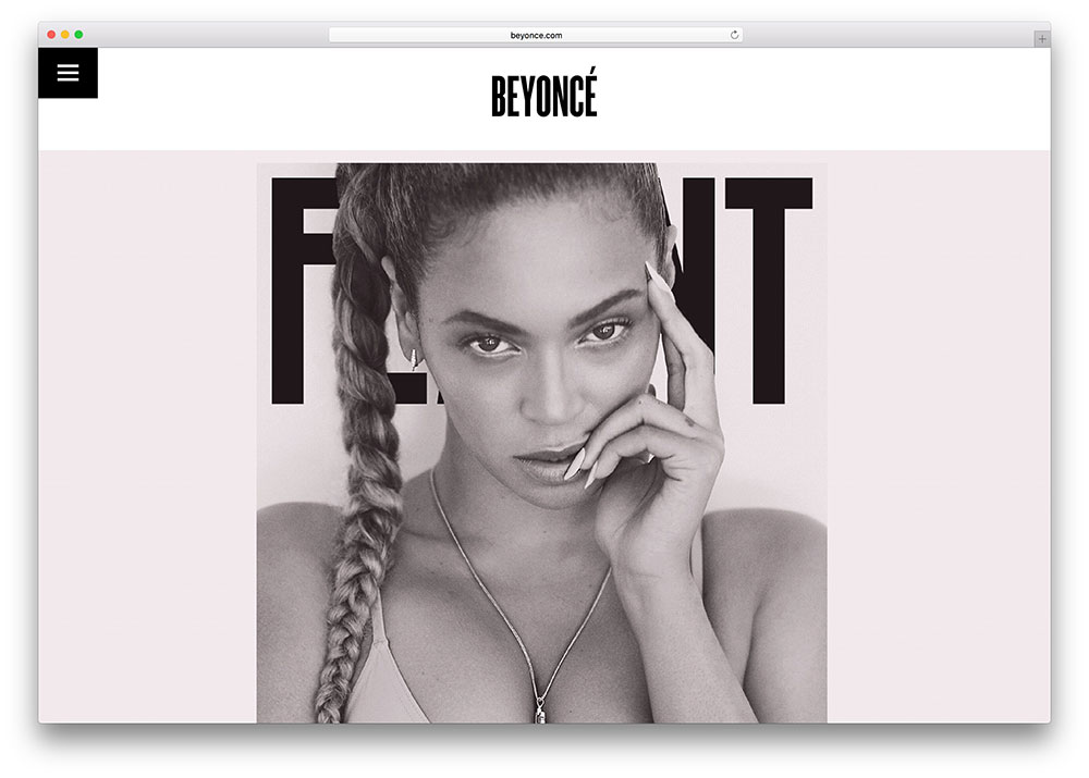 beyonce-wordpress-site