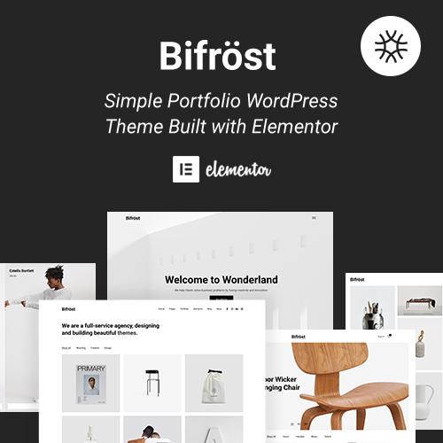 bifrost Theme on Colorlib