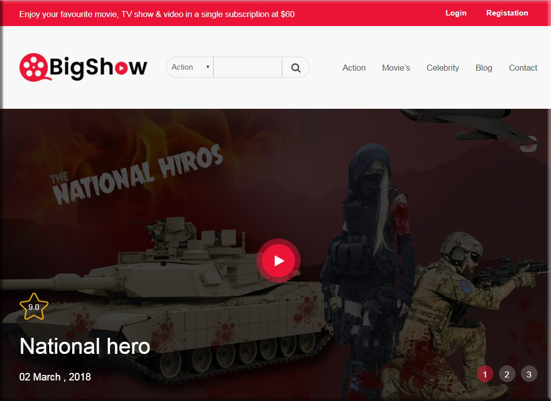 bigshow-wordpress-cinema-movie-theme