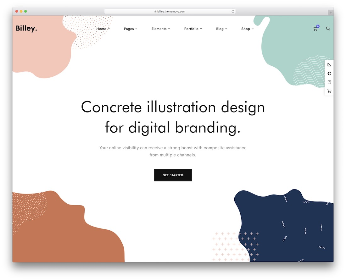 billey wordpress theme