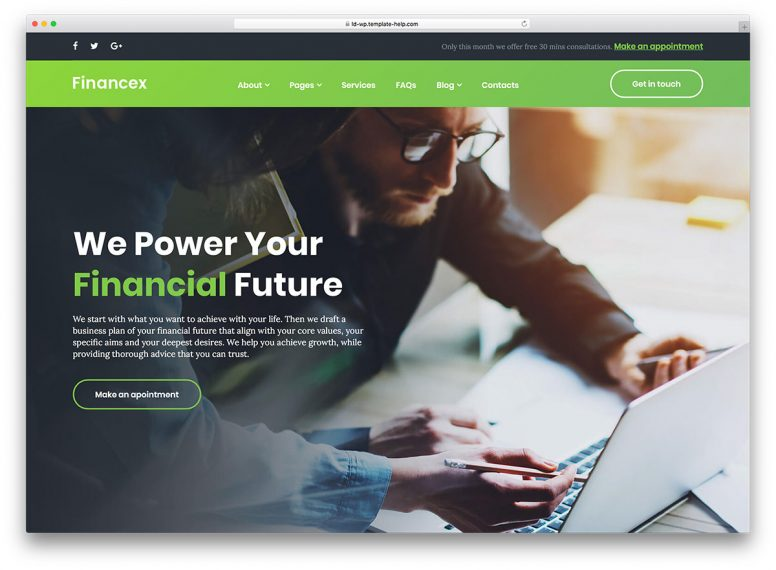 15 Best Financial WordPress Themes For Cryptocurrency, Banking & Consulting  2018