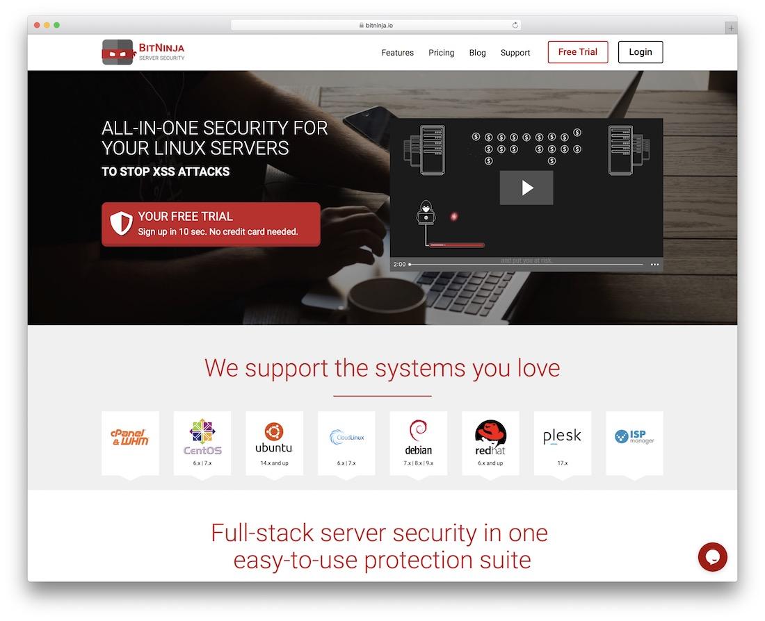 bitninja security tool