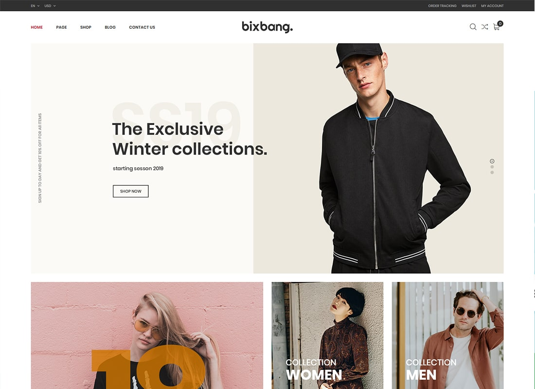 Bixbang - Minimalist eCommerce WordPress Theme for WooCommerce