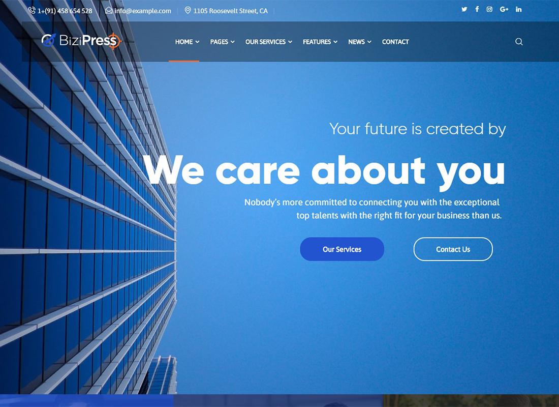 bizipress-finance-insurance-wordpress-theme