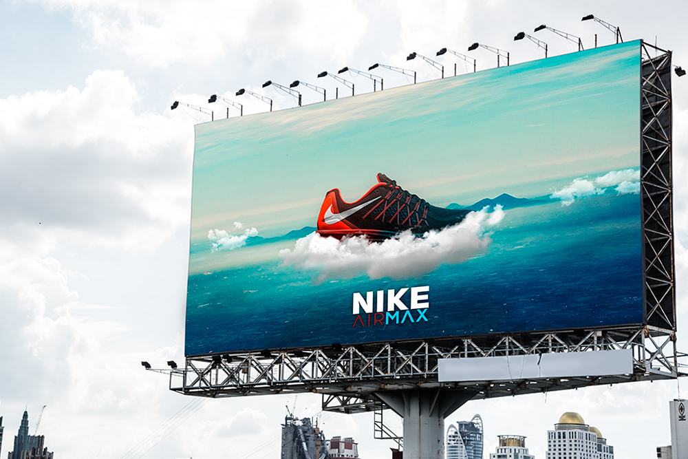 black billboard mockup