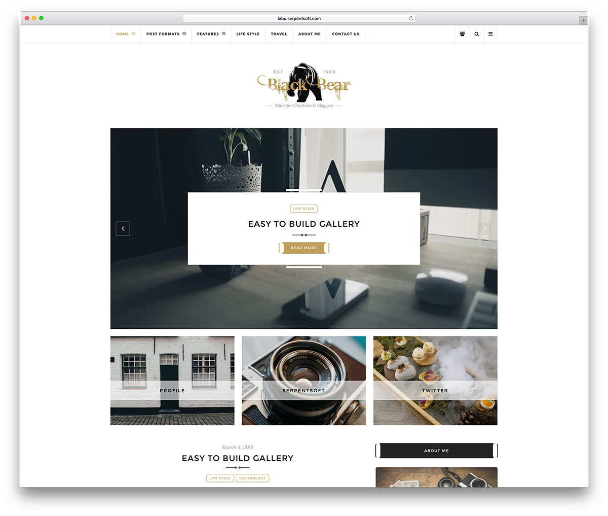 blackbear-simple-wordpress-blog-website-template