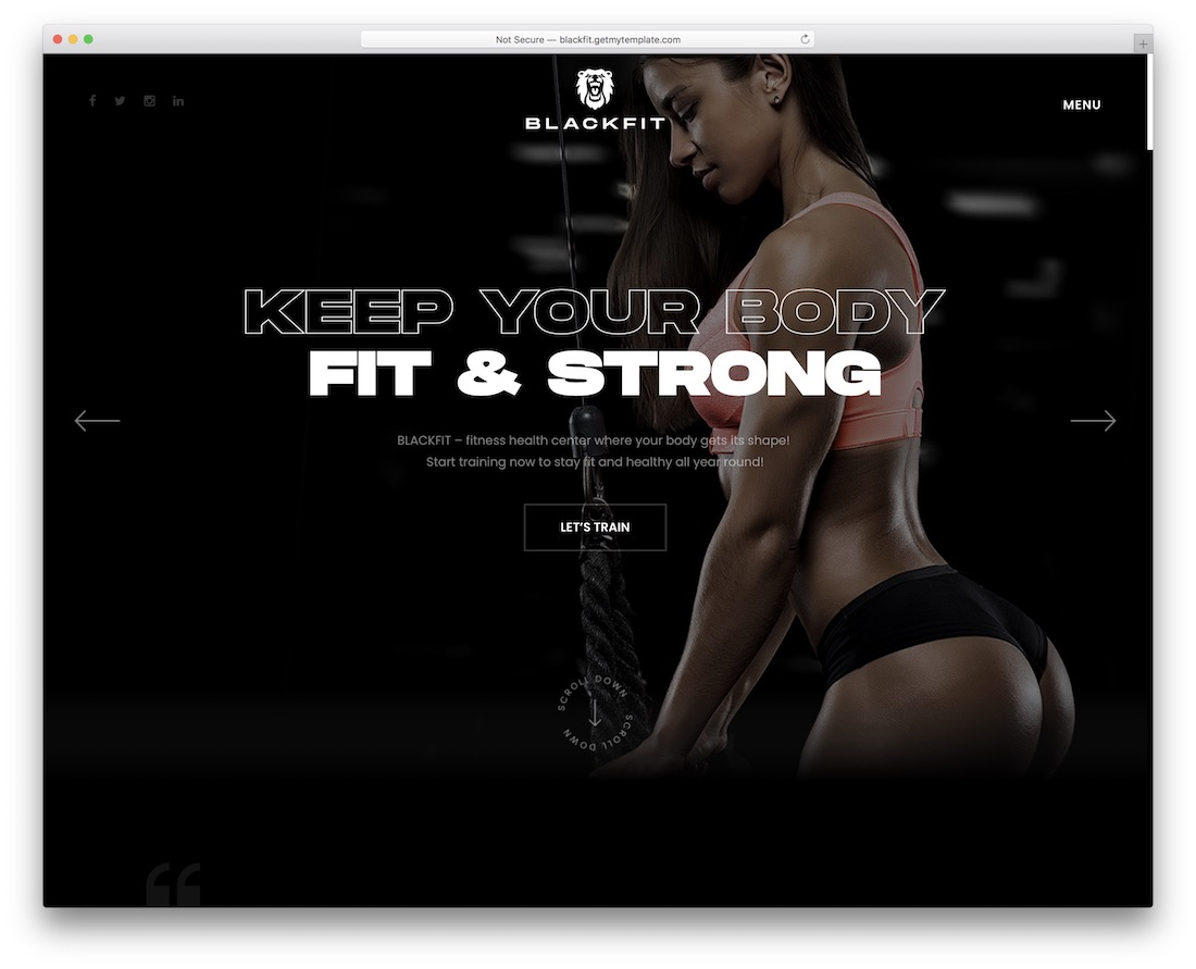 blackfit ecwid ecommerce theme