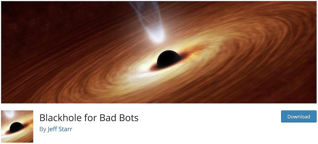 blackhole bad bots wordpress anti spam plugin