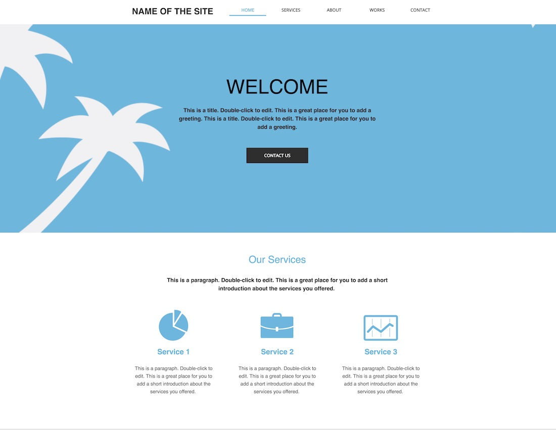 10+ Best Free Blank Website Templates For Neat Sites 2019