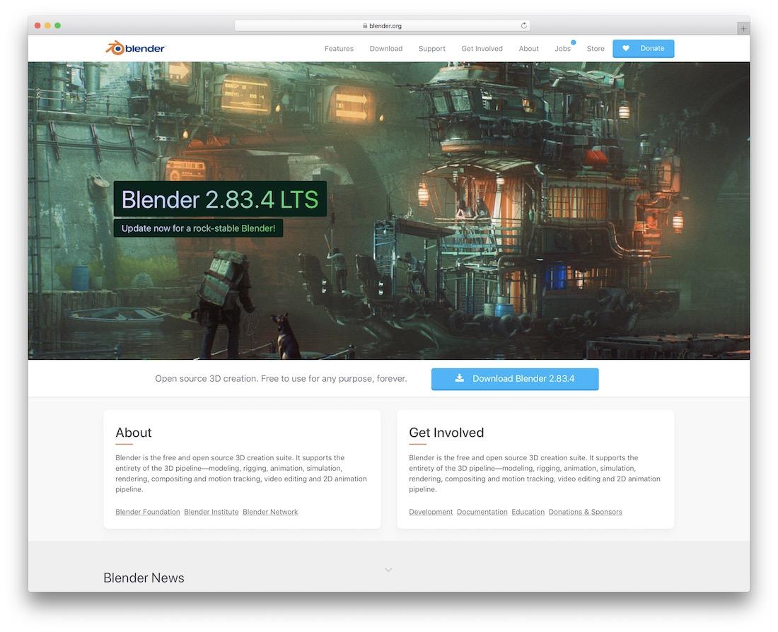 blender 3d editing tool