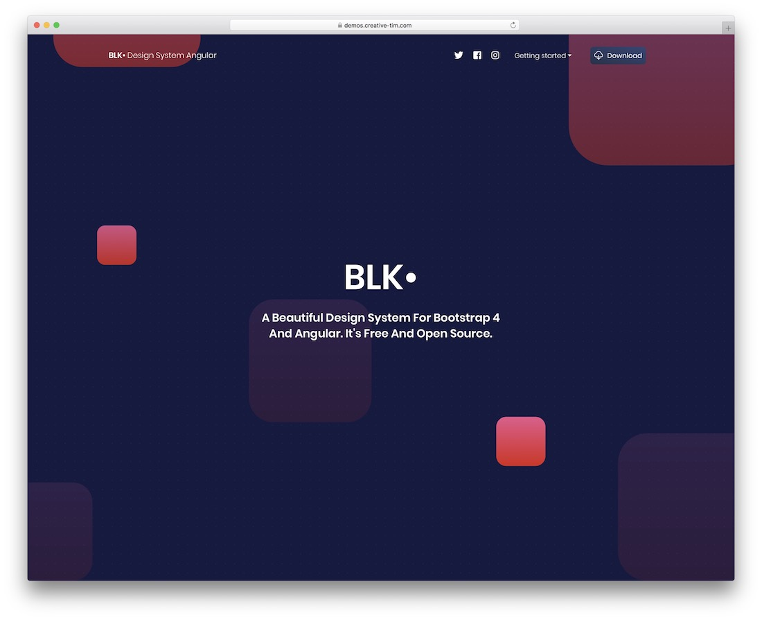 blk design system angular
