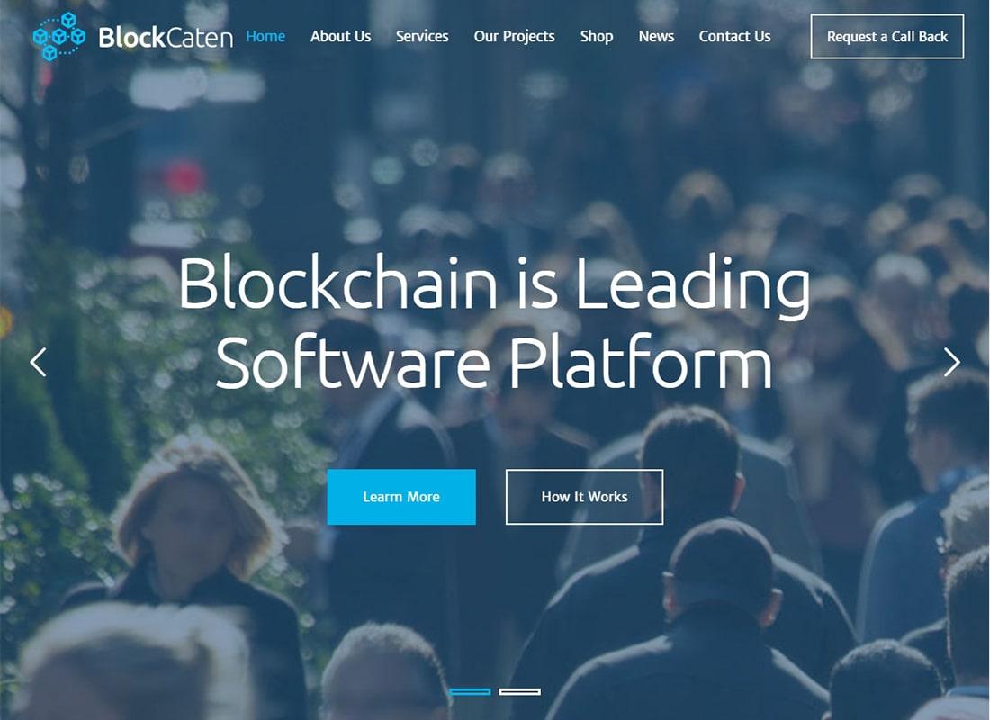 Blockcaten | Trading & Consulting WordPress Theme