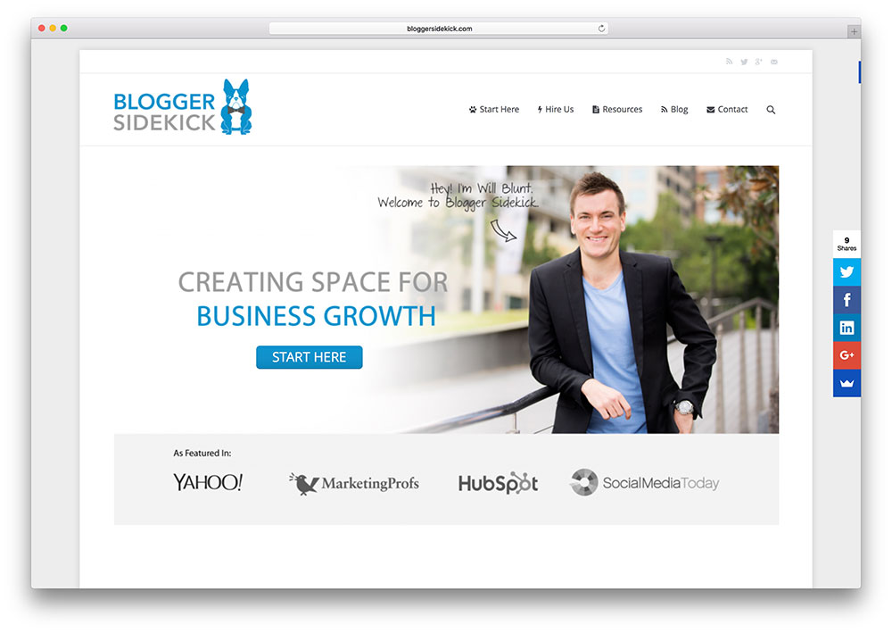 bloggersidekick-business-consultant-site-example-with-the7