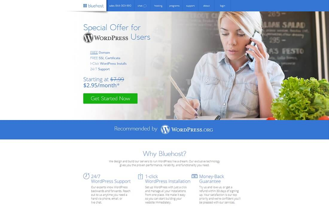 bluehost cheap hosting wordpress