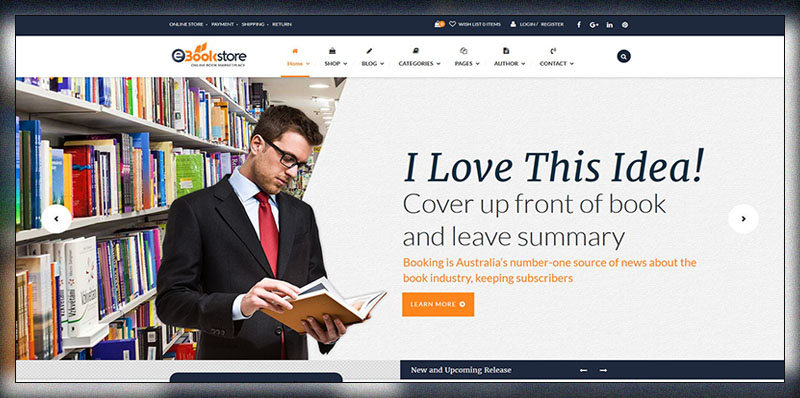 Book Store WordPress Theme - BookStore WP