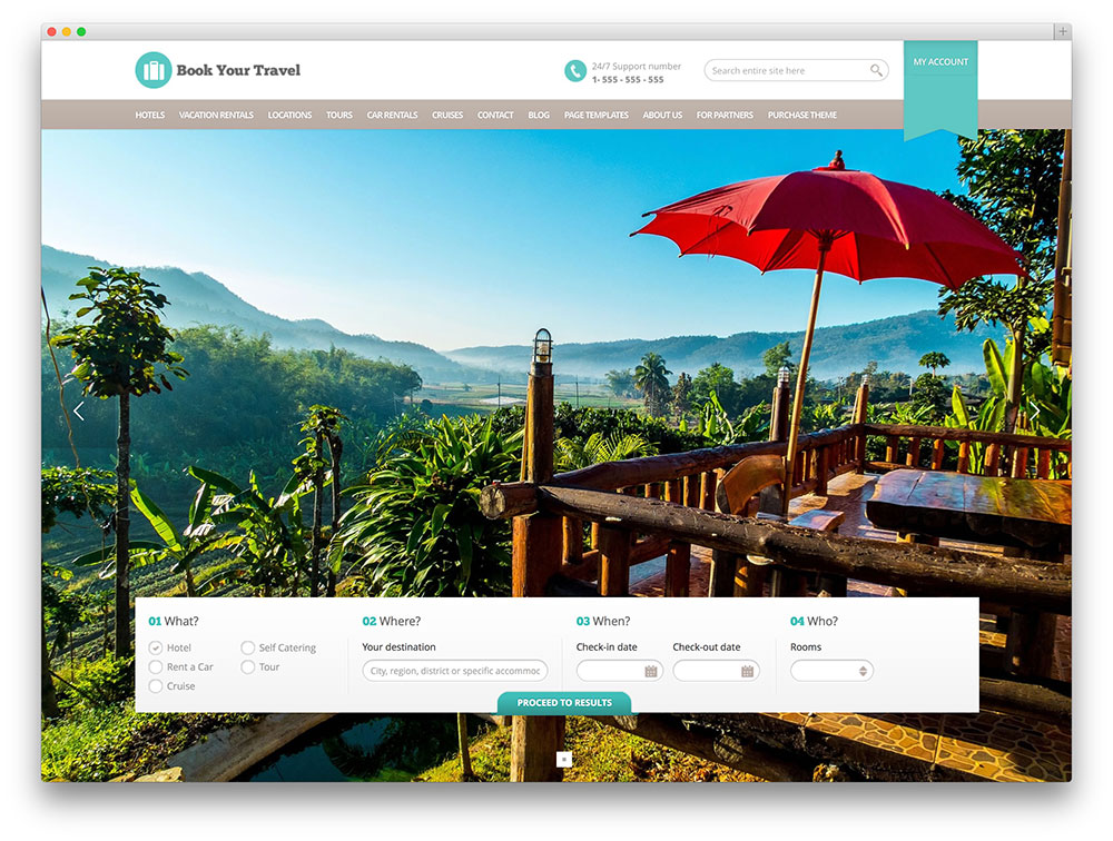 50+ Best WordPress Travel Themes For Blogs, Hotels and Agencies ...