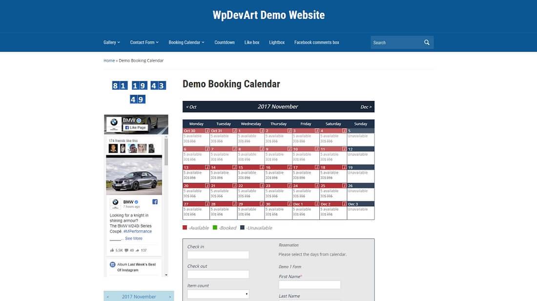 19 Best Free WordPress Booking Plugins 2019 - Colorlib