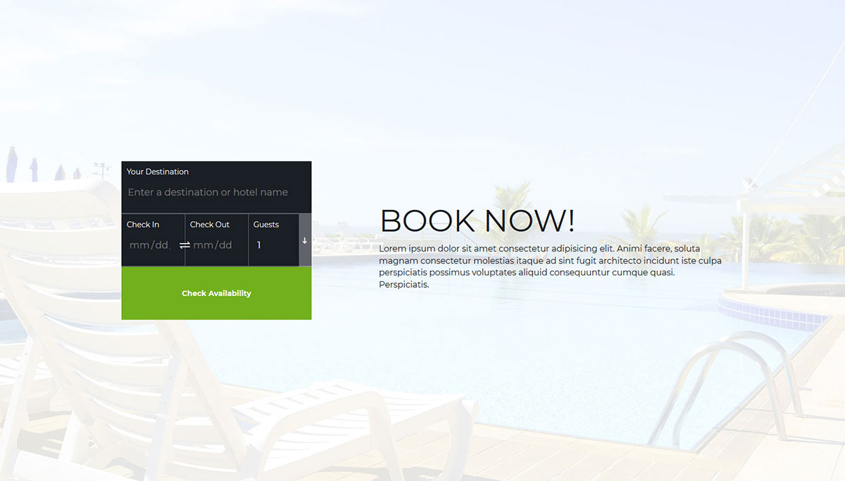 accommodation booking form template.html