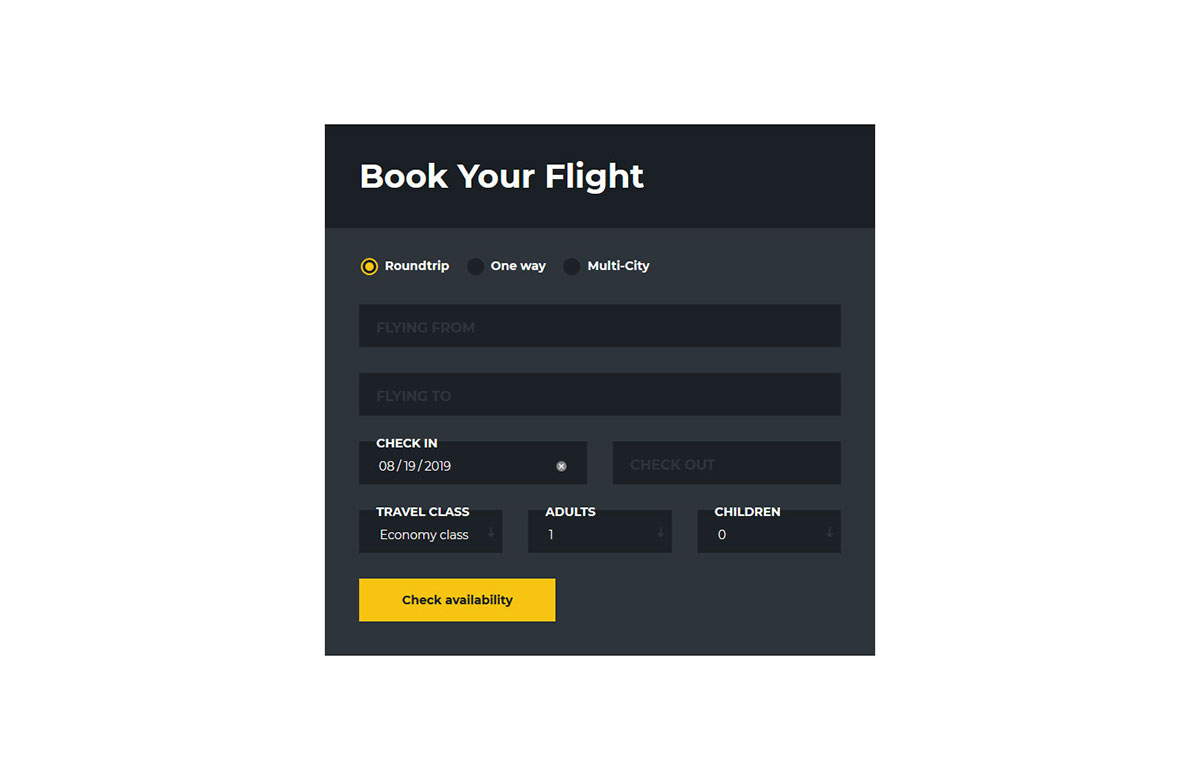 21 Free Booking Form Templates To Help You Serve Better 2019