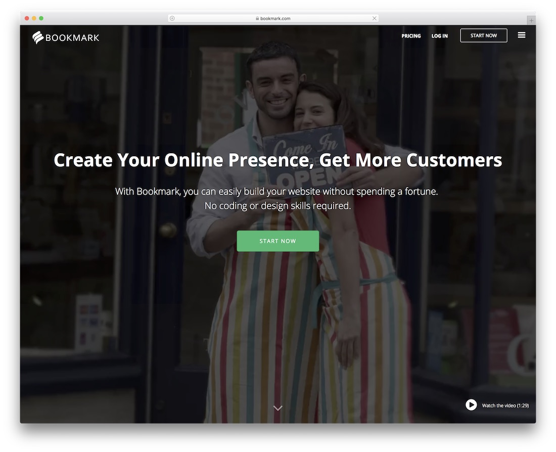 bookmark community website builder