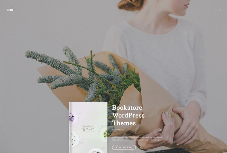 Beautiful WordPress Bookstore Themes For Selling Books And E-Books