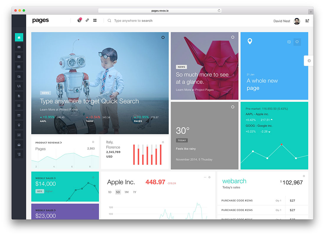 25 Best Bootstrap Admin Templates For Web Apps 2018 Colorlib