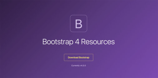 Bootstrap 4 Resources