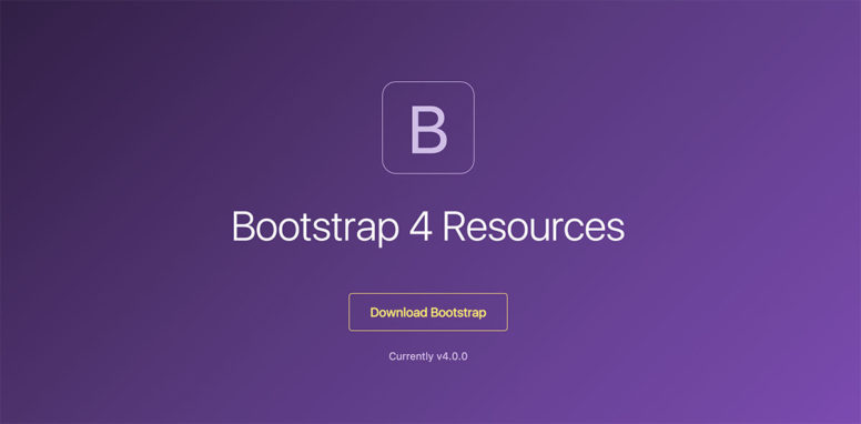 18 Resources For Bootstrap 4 – Getting Started With The Latest Version