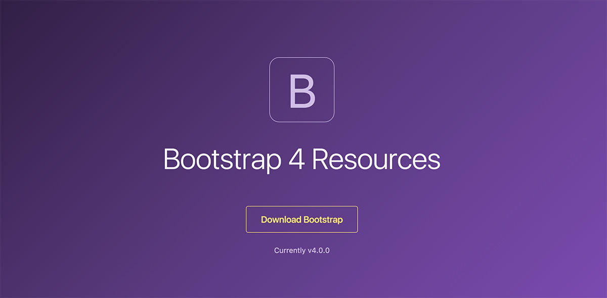 20 Resources For Bootstrap 4 – Getting Started With The Latest Version