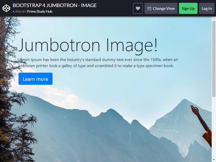 , 22 Free and Functional Bootstrap Jumbotrons for Your Website, Rojak WP