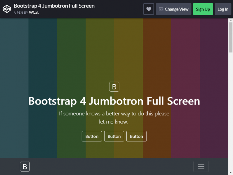 20 Free And Functional Bootstrap Jumbotrons For Your Website