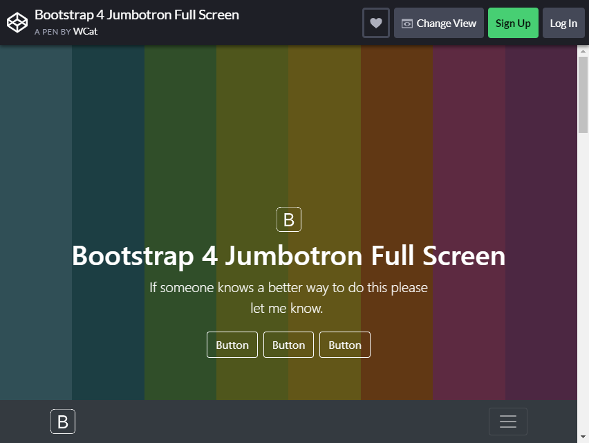 20 Free And Functional Bootstrap Jumbotrons For Your Website Colorlib