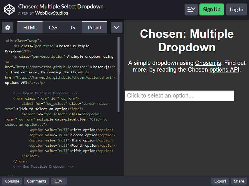 20 Bootstrap Multiselect to Embed in Your Website - Colorlib