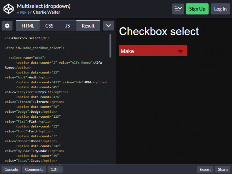 20 Bootstrap Multiselect To Embed In Your Website