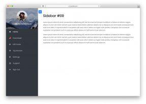 Bootstrap Sidebar Navigations