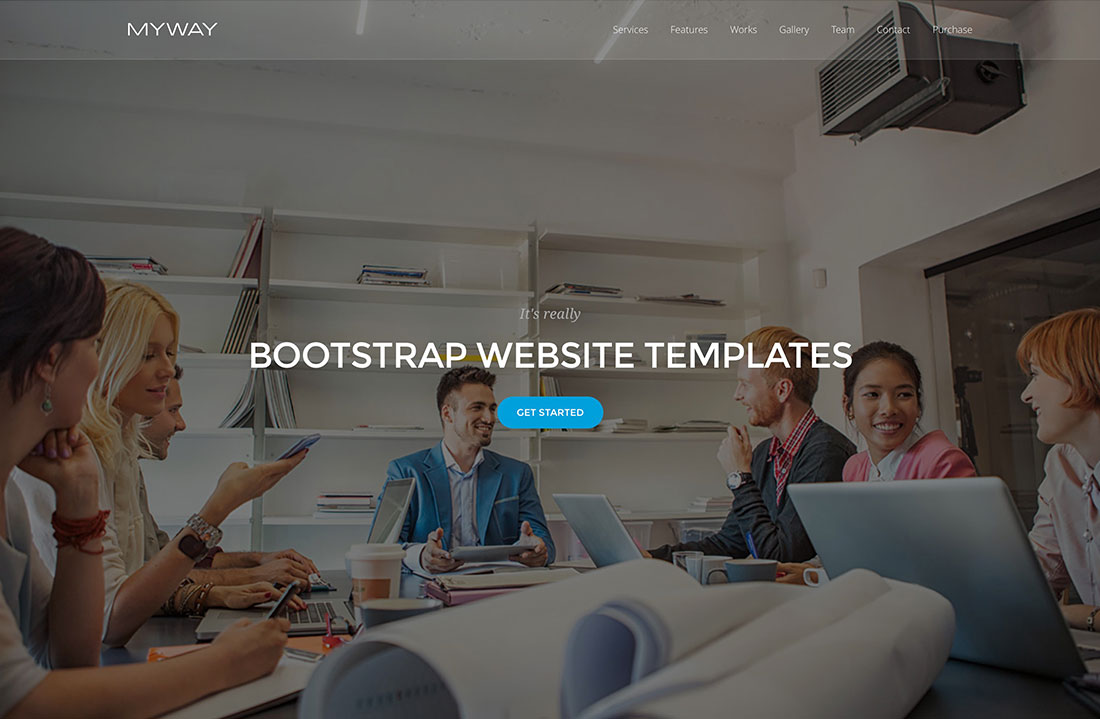 26 Best Responsive & SEO Friendly Bootstrap HTML5 Website Templates 2018