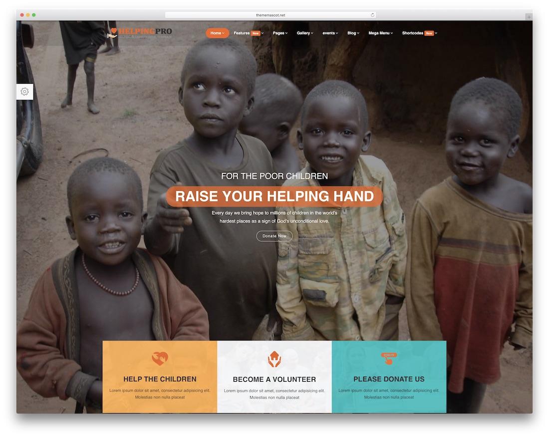 bountypress website template