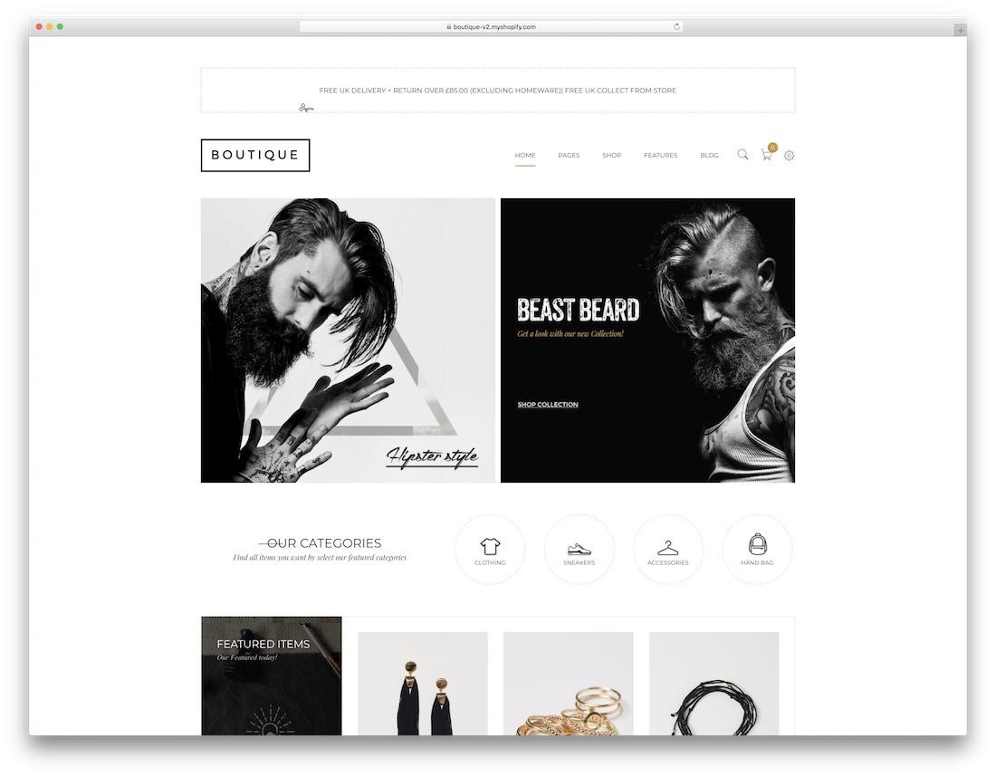 boutique fashion shopify theme