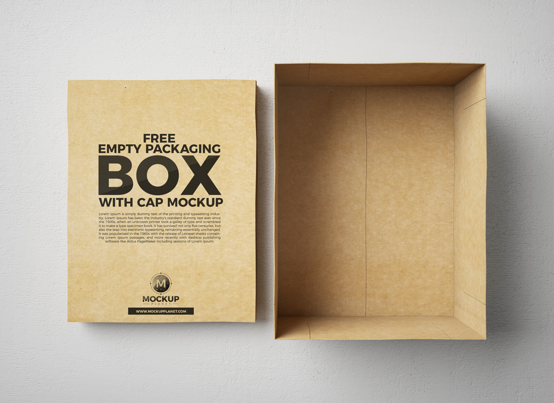 25 Free Box Mockups For Striking Packaging 2019 - Colorlib