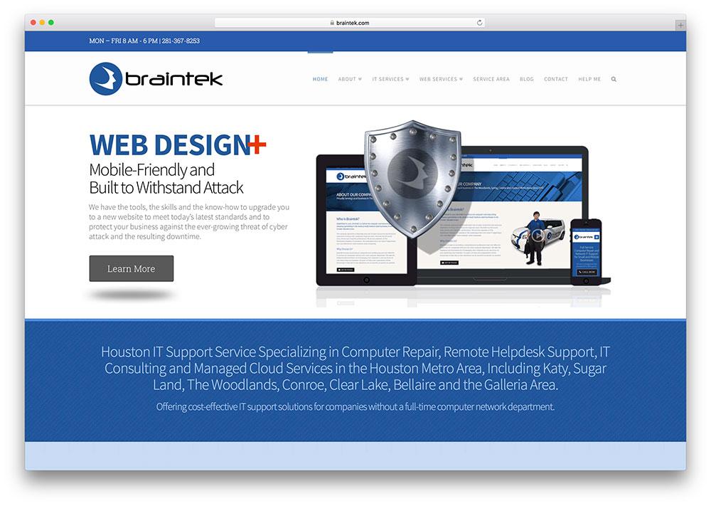 braintek-web-development-company-site-using-x-theme