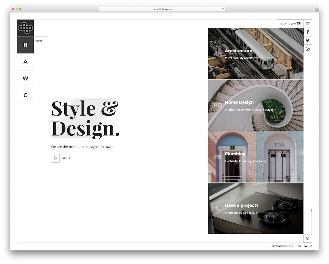 brainux beautiful website template