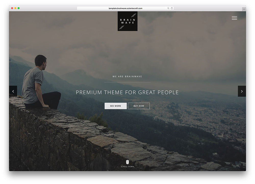brainwave-clean-premium-html-website-template